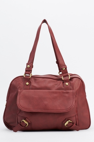 Faux Leather Classic Bag