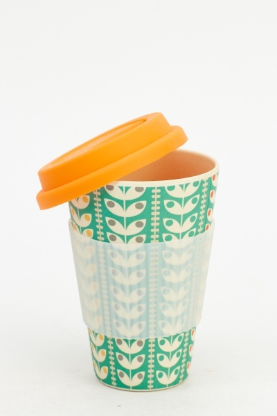 Orange Bamboo Eco Mug