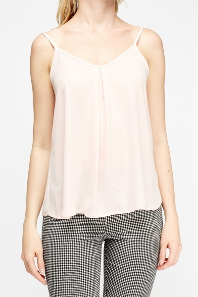 Light Pink Cami Top