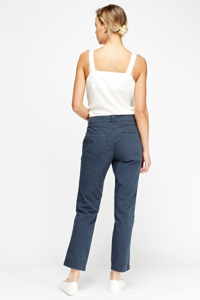 Comfort Fit Chino Trousers