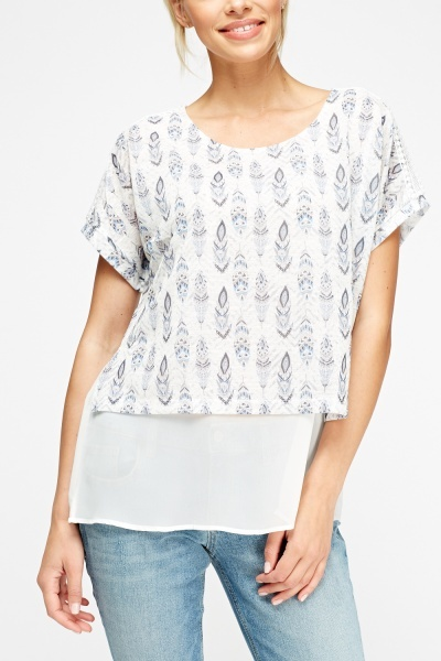 Insert Mesh Printed Top