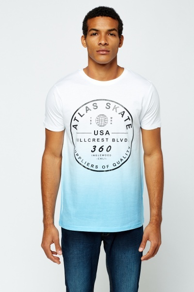 Logo Printed Front T-Shirt
