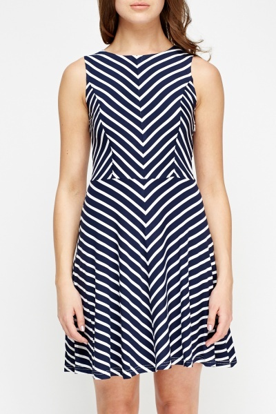 Stripe Swing Dress