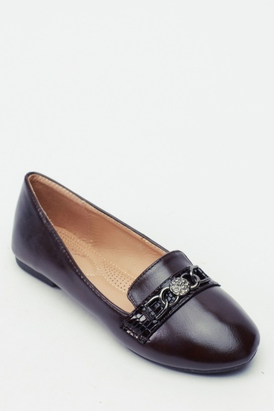 Chained Ballet Pumps
