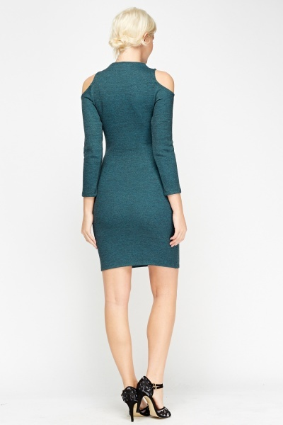Cold Shoulder Bodycon Dress