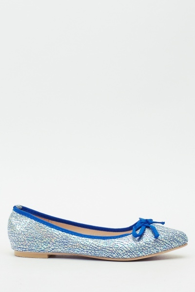 Holographic Ballet Pumps