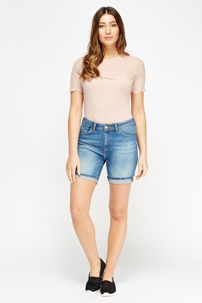 Casual Denim Shorts