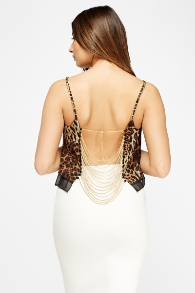 Chain Detailed Back Top