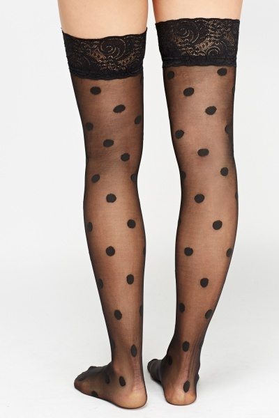 Polka Dot Stockings