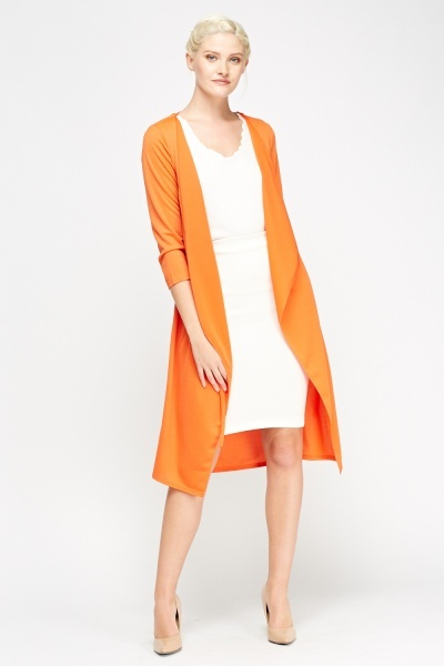 Waterfall Long Duster Jacket