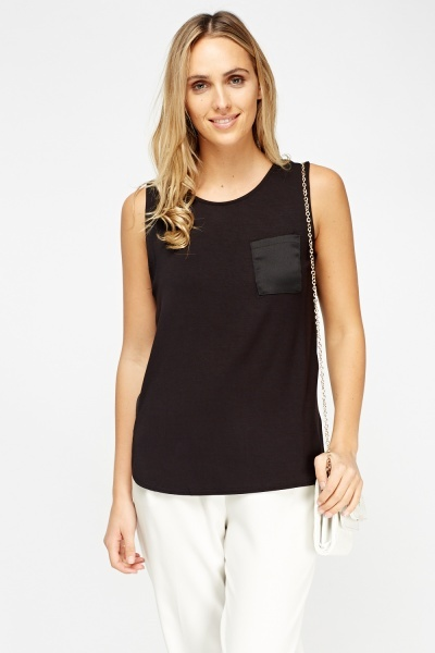 Image of Black Casual Top