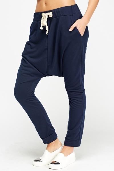 Excellent 2016 New Women Casual Harem Pants High Waist Sport Pants Youga Modal