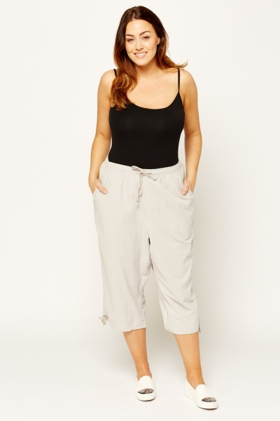 3/4 Elasticated Trousers