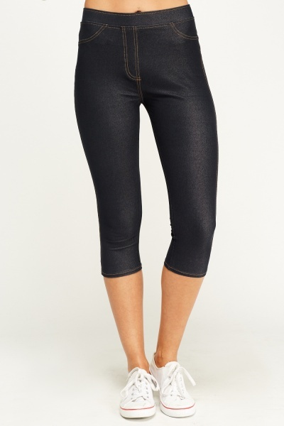 Indigo 3/4 Jeggings