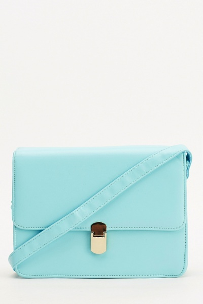 Image of Blue Box Shoulder Bag