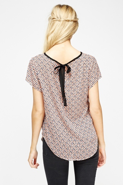 Printed Tie Back Box Top