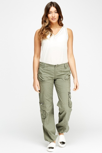 Multi Pocket Combat Trousers