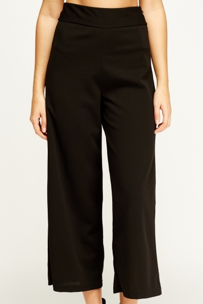 Flam Mode Black Culottes