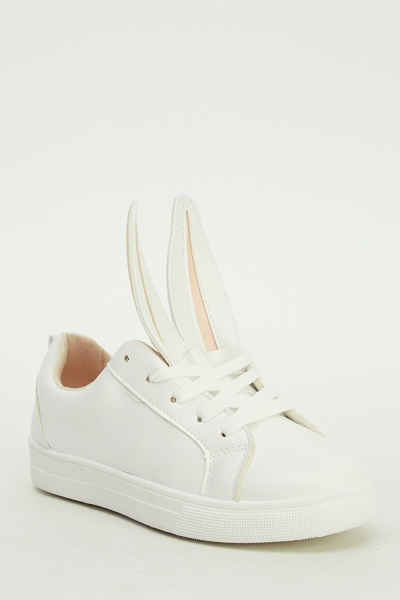 Bunny Ear Low Top Trainers