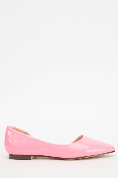 PVC Court Ballet Pumps