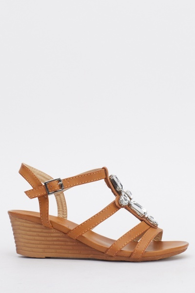 strappy wedge sandals just 163 5