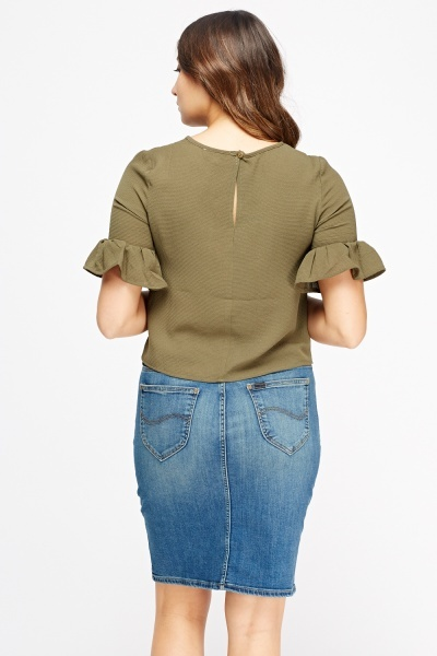 Flared Sleeve Box Top