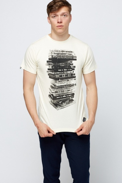 CD Record Print T-Shirt