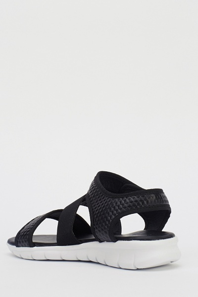 Textured Casual Sandals