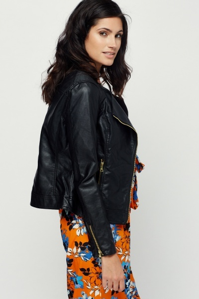 Barney And Taylor Quilted Biker Jacket