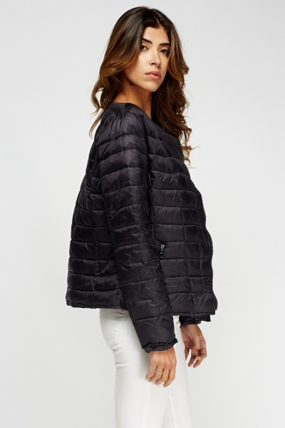Basic Quilted Jacket