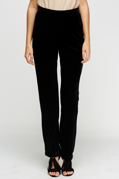 Pack Of 2 Velveteen Pants