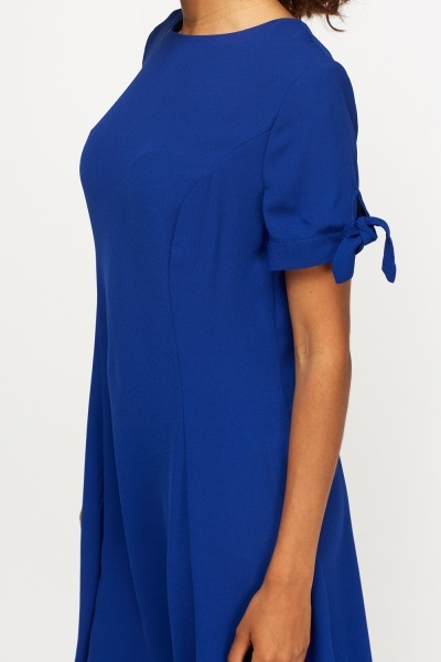 Royal Blue Shift Dress