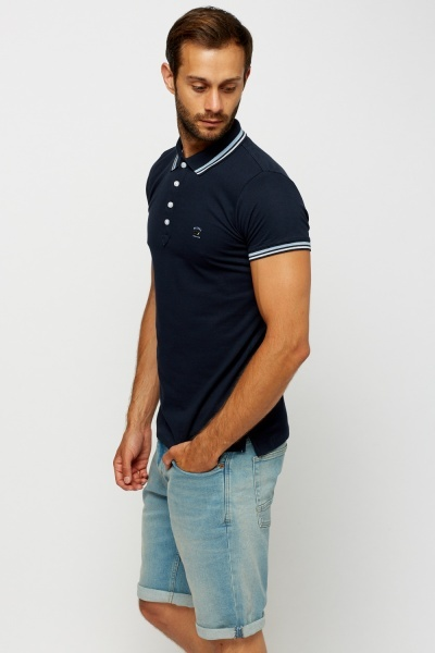 Diesel Navy Mens Polo