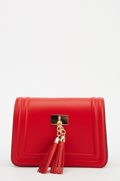LYDC London Leather Small Shoulder Bag