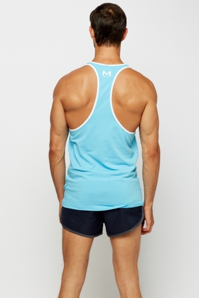 Printed Mens Tank Top