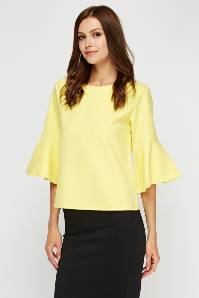 Flare Wide Sleeve Top