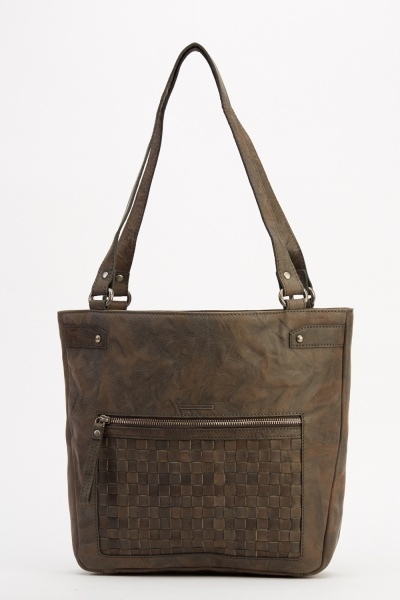 Marco Venezia Leather Rimini Large Pocket Handbag