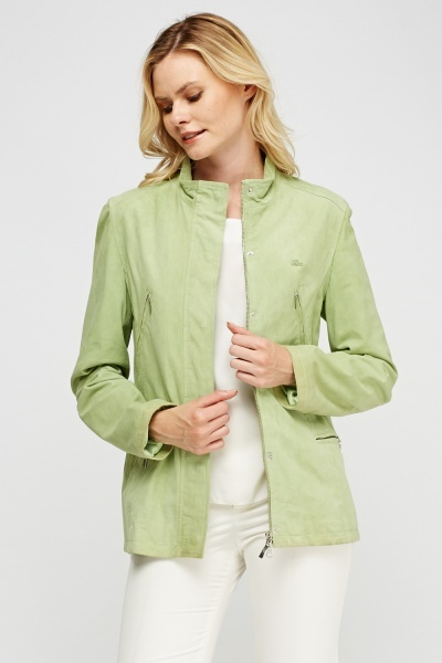 Lacoste Multi Pocket Suedette Jacket