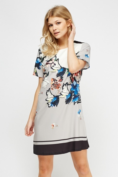 Tunic Printed Dress