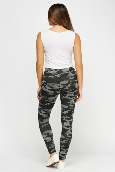 Camouflage Casual Leggings
