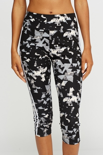 Multi Geo Print Sport Leggings