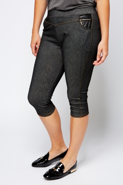 Contrast Casual Leggings