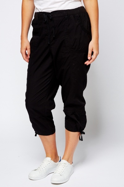 Cropped Light Weight Combat Trousers