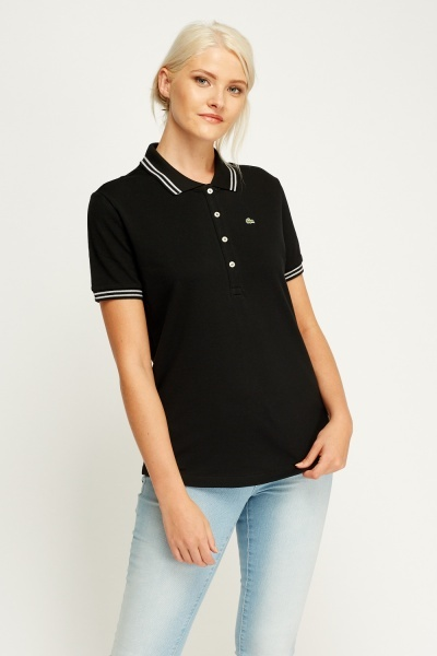 Lacoste Trim Polo T-Shirt