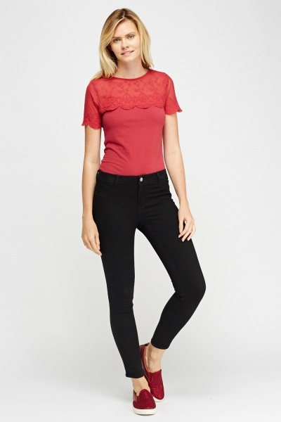 Skinny Fit Casual Jeggings