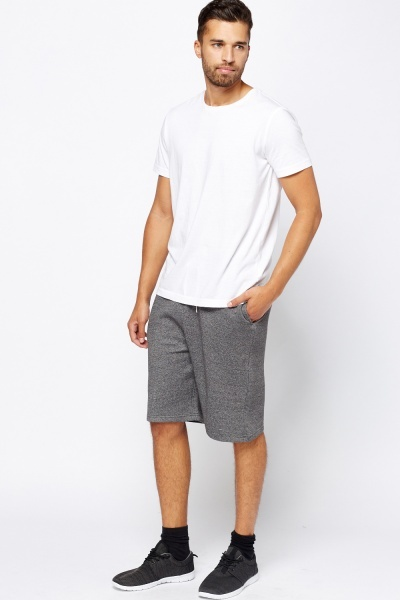 Basic Cotton Jogger Shorts
