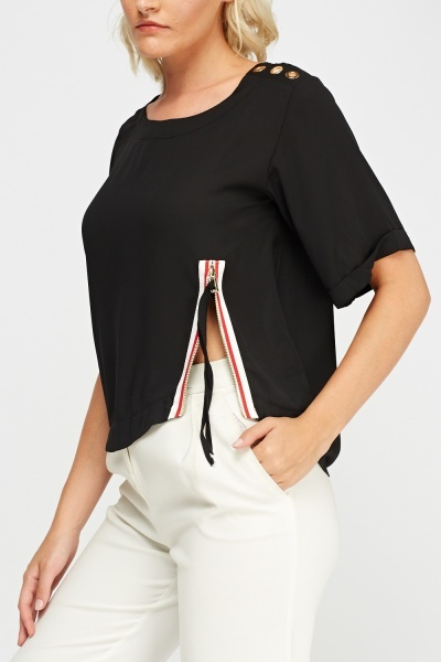 Detail Casual Top