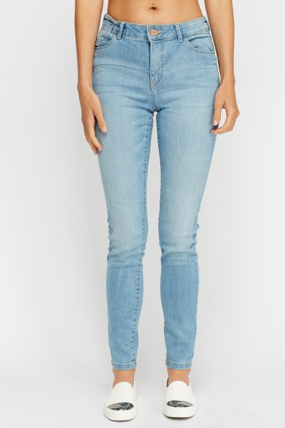 Super Skinny High Waist Jeans