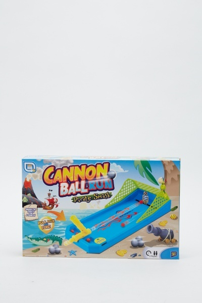 Image of Cannon Ball Run Pirate Smash Game