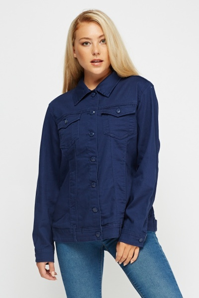 Twin Pocket Denim Jacket